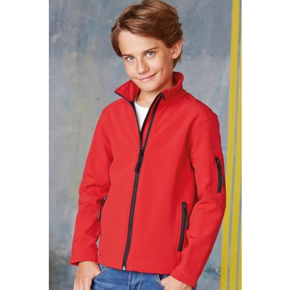 K402 Softshell bērnu jaka