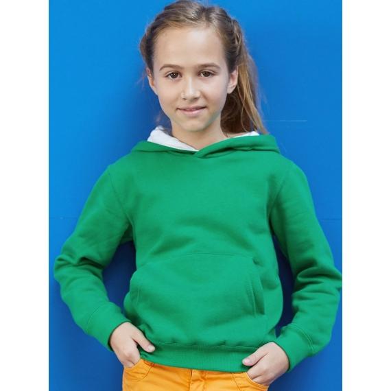 K453 Two-tone hooded bērnu džemperis