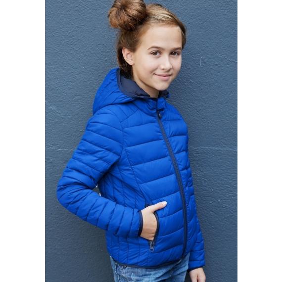 K6112 Hooded stepēta bērnu jaka