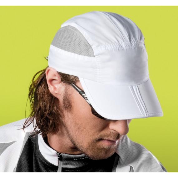 KP206 Foldable Sports unisex cepure ar nagu