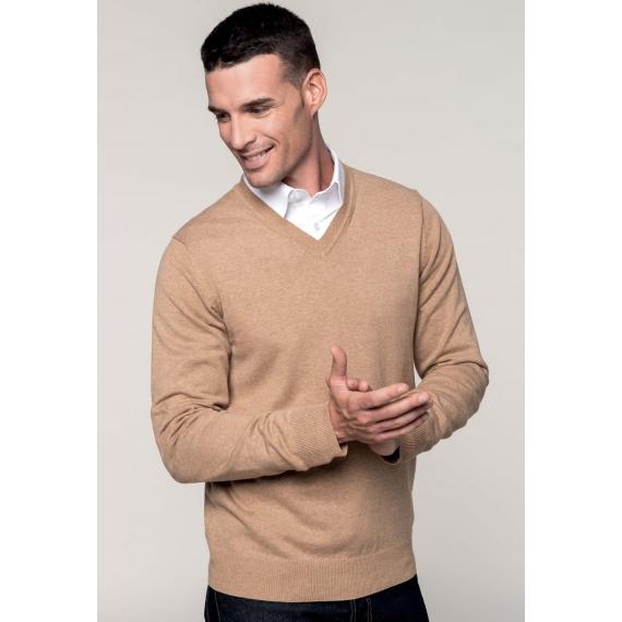 K982 Premium V-neck unisex džemperis