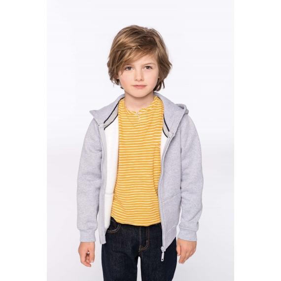 K455 Hooded bērnu jaka