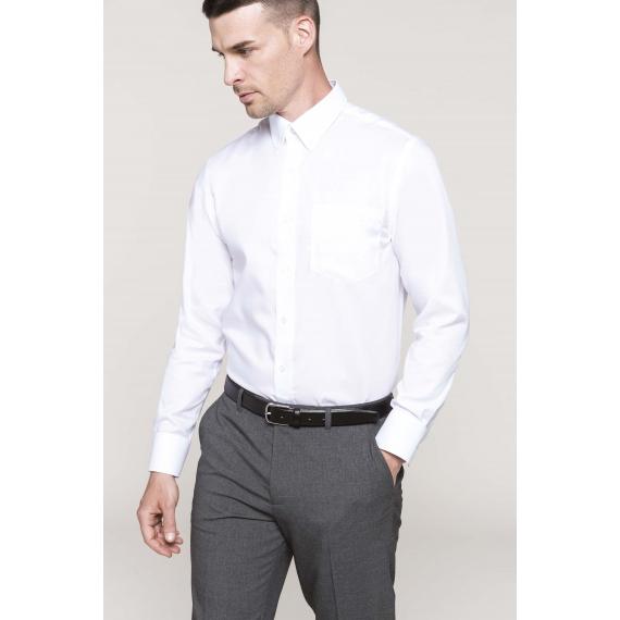 K537 Non-iron LSL vīriešu krekls