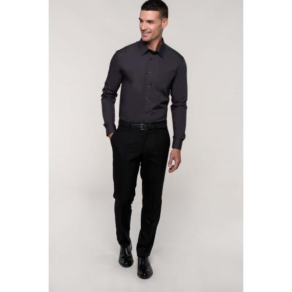 K541 Poplin LSL vīriešu krekls