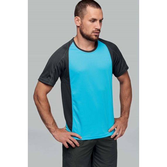 PA467 Two-Tone unisex sporta t-krekls