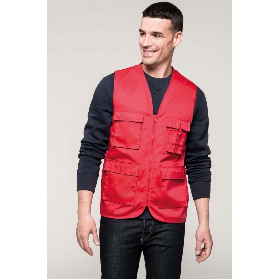 K624 Multipocket veste