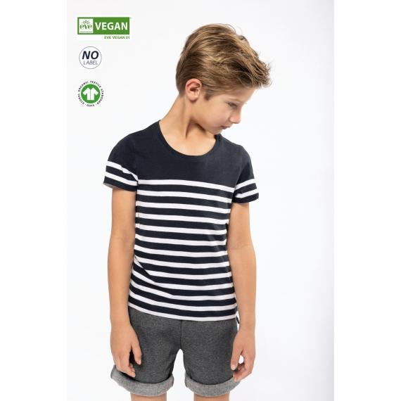 K3035 Organic Sailor bērnu t-krekls