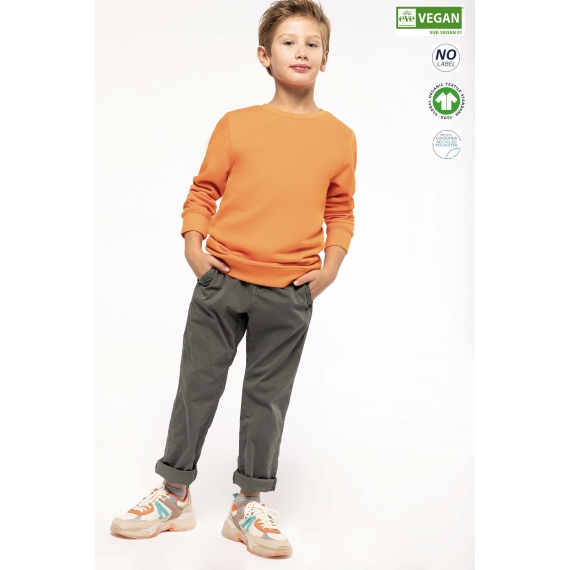 K4026 Eco-friendly bērnu džemperis