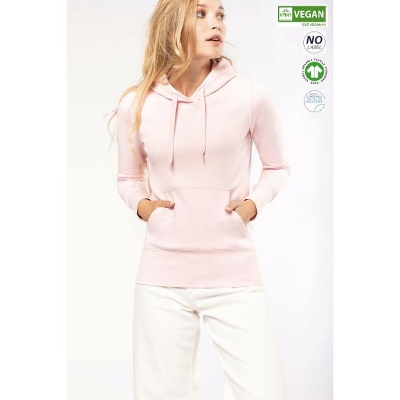 K4028 Eco-friendly sieviešu džemperis