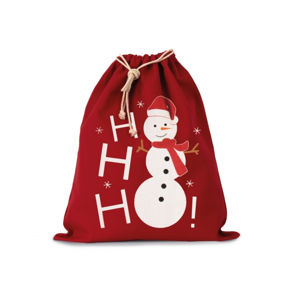 KI0745 Cotton Snowman maisiņš