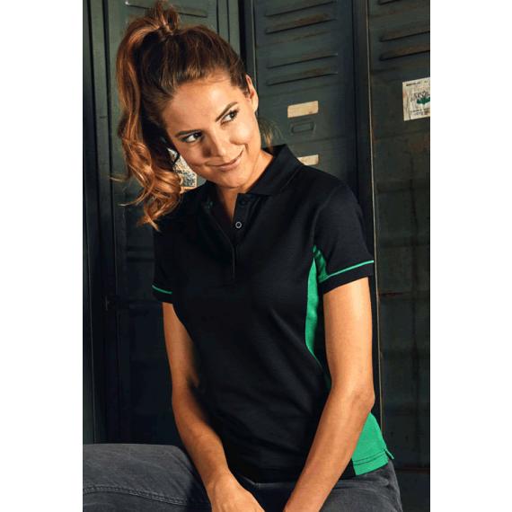 PD 4525 Function Contrast sieviešu polo krekls