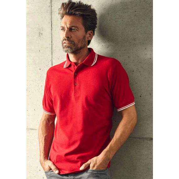 PD 4900 Contrast Stripes vīriešu polo krekls