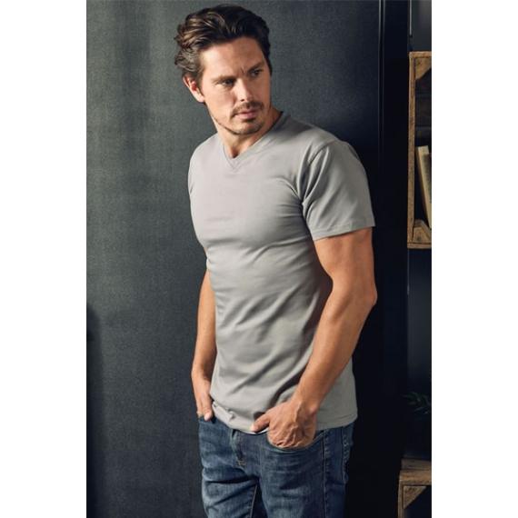 PD 3025 Premium V-neck-T vīriešu t-krekls