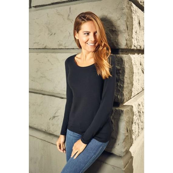 PD 4085 Slim Fit-T LSL sieviešu t-krekls