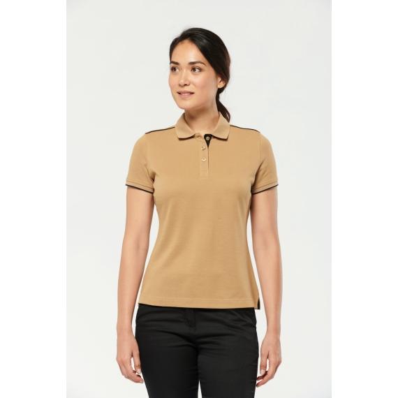 WK271 DayToDay SS Contrasting sieviešu polo krekls