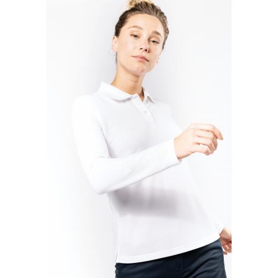 WK277 Antibacterial LS sieviešu polo krekls